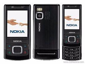 Nokia 6500 Slide Mobile Phone on 3 Network (Not Smart Phone)