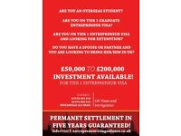 UK Visa & Immigration - Tier 1 Entrepreneur, Tier 4 Students, Spouse Visa, Graduate Entrepreneurs