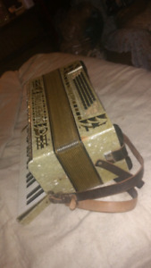 Supertone accordion made in Germany