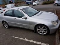 Mercedes C220 2001 for sale or swap