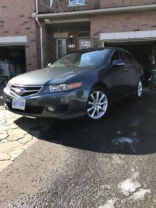 2006 ACURA TSX LEATHER LOW KM + WINTERS