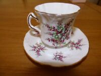 Hammersley Fine Bone China Cup and Saucer