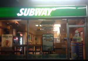 Famous Franchise *Subway* for sale ONLY $199000
