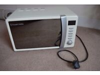 Russell Hobbs Microwave in Cream colour