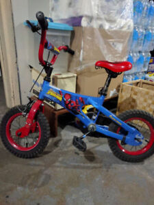 12'' spiderman  bike