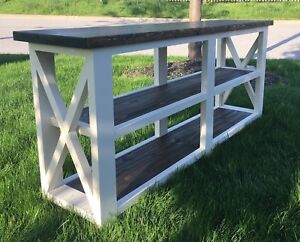 Farmhouse Console Tables