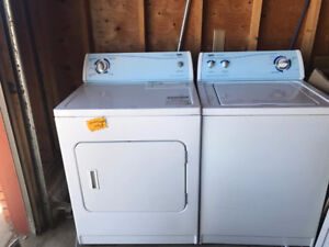 Price reduced - Washer & Dryer for sale