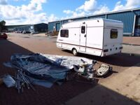 Abbey 2000 year,2 berth,Solar panel,Motor mover,New Full Awning,all accessories,clean,dry,tested