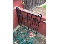 outdoor metal gate