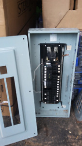 100 amp service with breakers for sale