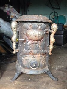 Maple calt antique wood stove