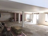BRIGHT WORKSHOP TO RENT 1000sq/ft inc parking, w/c kitchen area NEWLY RENOVATED