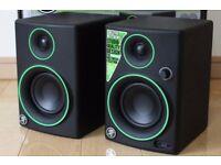 Mackie CR4BT Bluetooth Speaker (Pair) with 2x Rocket Deluxe Jack-leads