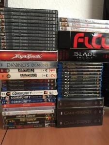 Purging some of our movie/show sets. Dvd/blu ray