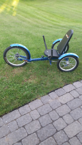 "Triton Recumbent 20"" 3 Wheeled Cruiser For Sale"