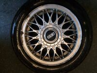 VW GOLF BBS ALLOY WHEELS