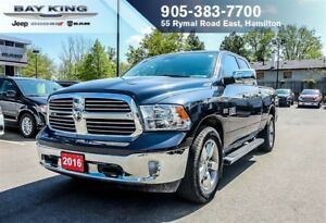 "2016 Ram 1500 SLT QUAD CAB 4X4, NAVI, BLUETOOTH, 8.4"" DISPLAY, B"