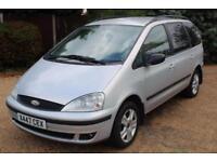CHEAP CAR - 2001 X FORD GALAXY 1.9 GHIA TDI 5D 115 BHP DIESEL -