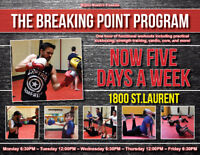 Try Free! Kickboxing-themed group fitness with Mighty Maestro!