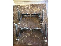 Kaldewei steel bath leg set