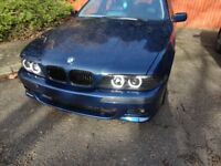 BMW e39 2000 528i LEFT HAND DRIVE Custom Made M5 Exhoust