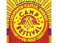 Camp Bestival adult weekend camping ticket