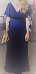 NEW never been worn (2) NAVY bridesmaid dresses for sale