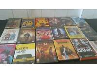 73 dvds good condition and working order... NO TIMEWASTERS PLEASE AS BEEN MESSED ABOUT 3 TIMES