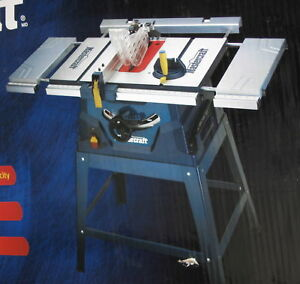 Mastercraft / Hawkeye Laser  Tablesaw &  Support Stand For Sale.