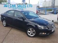 VOLKSWAGEN PASSAT 1.6 S TDI BLUEMOTION TECHNOLOGY 4d 104 BHP A GREAT (black) 2011