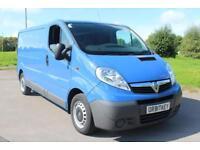 Vauxhall Vivaro 2.0CDTi ( 115ps ) ( EU V ) 2900 LWB Air/Con Blue Diesel Van