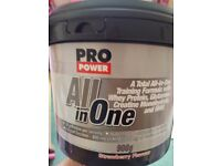 Pro power all in one Strawberry 908g