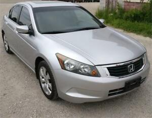 2008 HONDA ACCORD EX SEDAN SAFETIED FOR $8450+HST TAX!