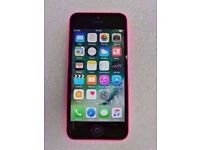 APPLE IPHONE 5C 8GB PINK EE WITH RECEIPT