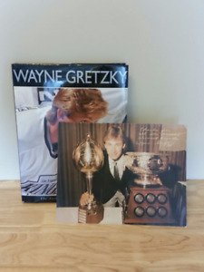 WAYNE GRETZKY BOOK WITH PICTURE HARD COVER