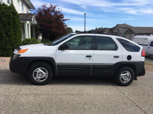 2001 Pontiac Aztek SUV, Crossover