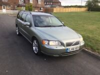 Volvo V70 D5 SE. Automatic diesel estate.