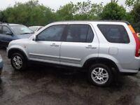 2002 Honda CRV 2.0 Petrol 4X4 MOT'd April BARGAIN £650