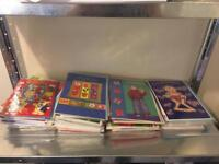 Job Lot Of 158 New Birthday Cards - Various Designs & Ages Still In Their Wrappers