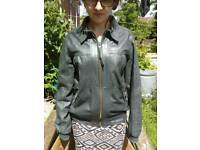 REAL LEATHER JACKET (BILLABONG) £25