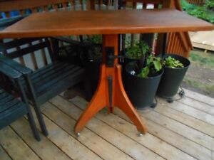 Drafting/Dining Table or desk