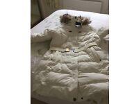 New with label Landsend duvet coat