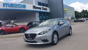 2014 Mazda MAZDA3 GS-SKY, .65% FIN, ACCIDENT FREE, B/T, A/C!