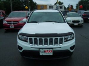 2014 JEEP COMPASS NORTH- REAR VIEW CAMERA, LEATHER HEATED SEATS,