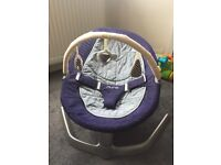 Nuna Leaf in excellent condition with toy bar and extra cover.