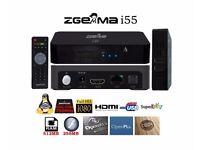 NEW / SEALED TV BOX-ZGEMMA i55 IPTV BOX RECEIVER - HD - Dual Core Linux OS E2 - OpEnBoX