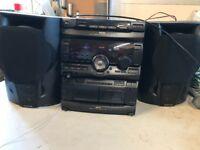 Sony MHC RX70 mini sound system