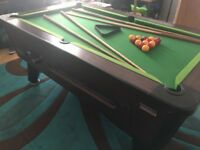 Super league continental 6x3 pool table
