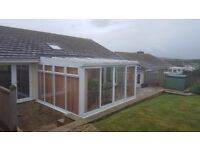 Conservatory Complete with Low E Glazing and UV Resistant Glass Roof