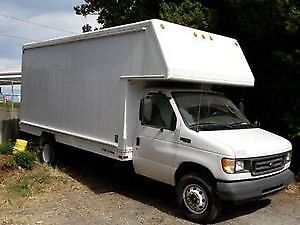 2003 Ford E-450 CUBE VAN FOR SALE